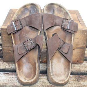 Men's Betula Birkenstocks Cork Sandals Size 10